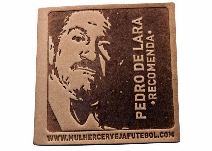 Bolacha Porta-Copos do Pedro de Lara