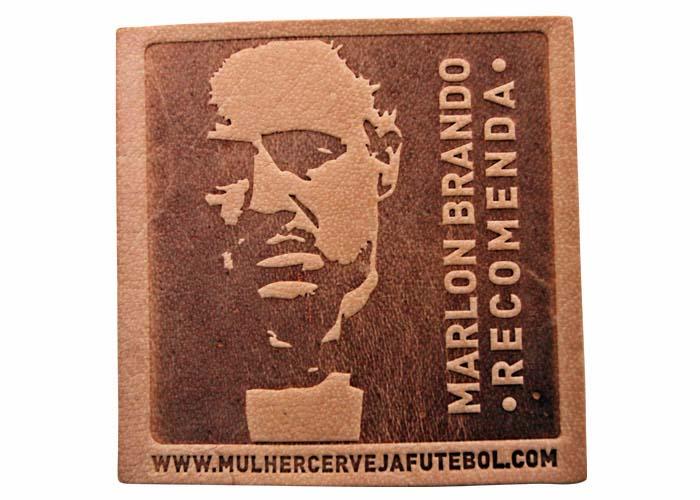Bolacha Porta-Copos do Marlon Brando