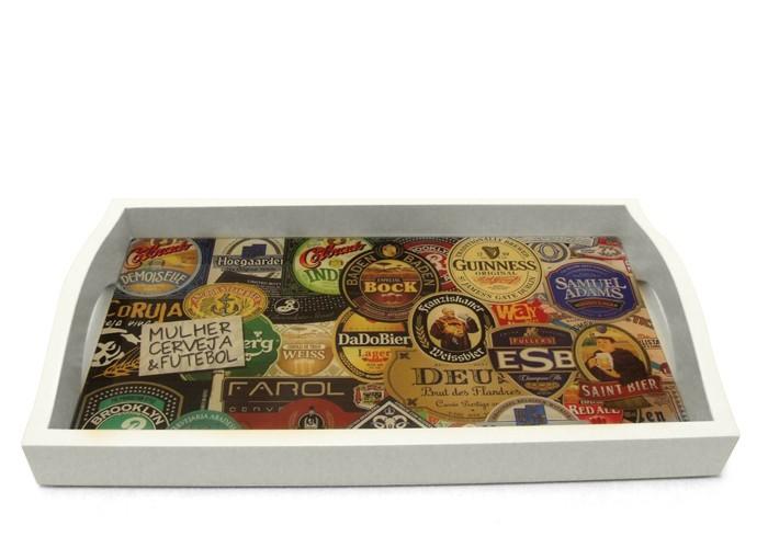 Bandeja Rótulos de Cerveja Pequena