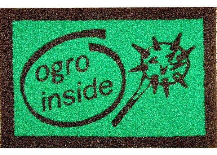 Capacho Ogro InsideFundo Verde