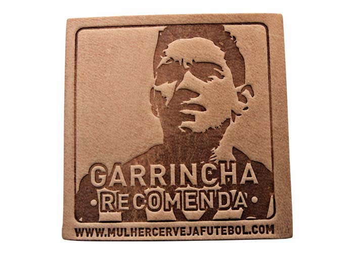 Bolacha Porta-Copos do Garrincha