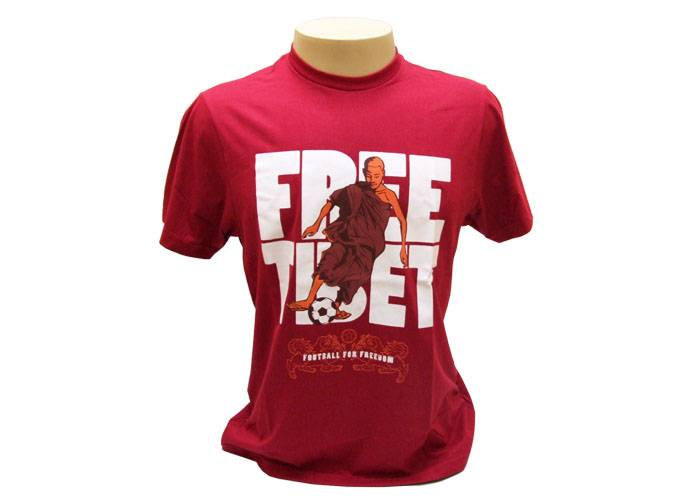 Camiseta Free Tibet (Monge Boleiro)