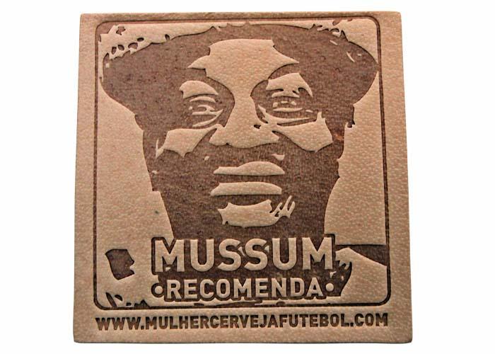 Bolacha Porta-Copos do Mussum