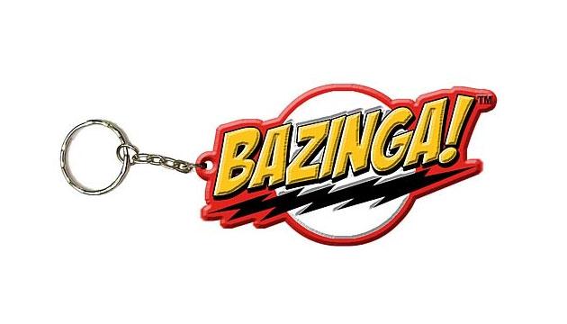 Chaveiro Oficial BAZINGA The Big Bang Theory (Frete Grátis)