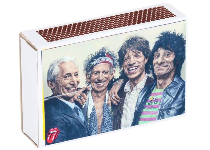 Imã caixa de fósforo Rolling Stones