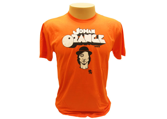 Camiseta Johan Cruyff (Laranja Mecânica)