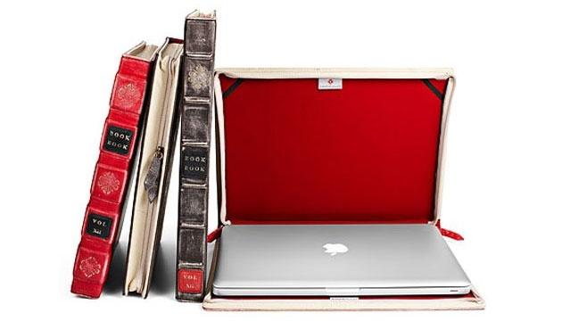 Case Livro Antigo BookBook Macbook de até 15