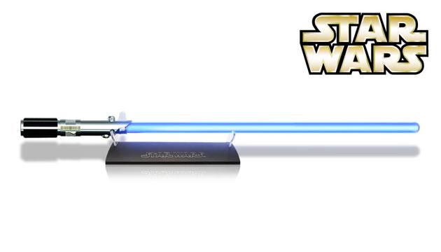Réplica Perfeita Sabre de Luz Star Wars Anakin Skywalker Force FX