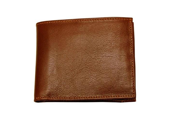 Carteira de couro com porta-cartõesPinhão