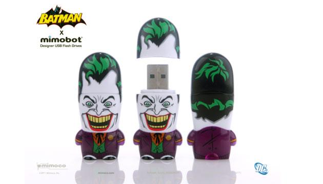Pen Drive Mimobot® DC Comics CURINGA - 8GB