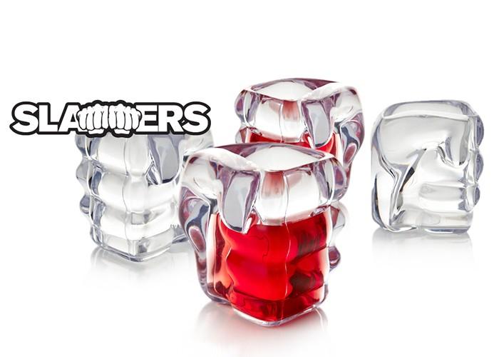Jogo de copos Shots Punho Slammers