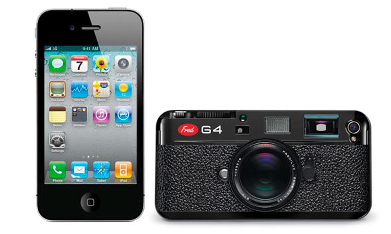 Capa iPhone 4/4S Câmera
