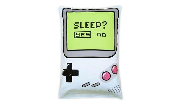 Fronha de Travesseiro Gamer Sleep Yes or No