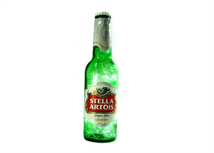 Garrafa Stella Artois Iluminda
