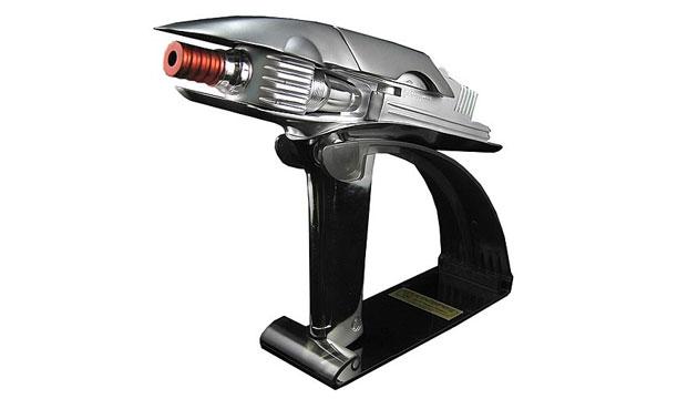 Réplica Perfeita Arma Phaser Star Trek Tamanho Real