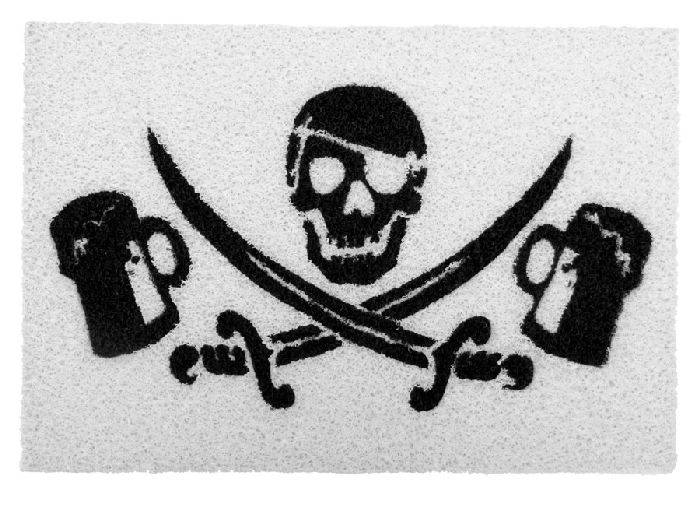 Capacho-Pirata de Boteco Fundo Branco