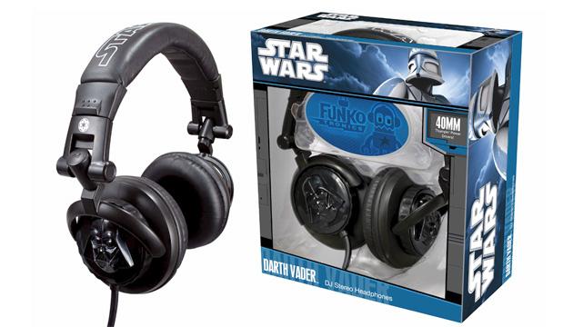 Fone de Ouvido DJ DARTH VADER - Funko Star Wars