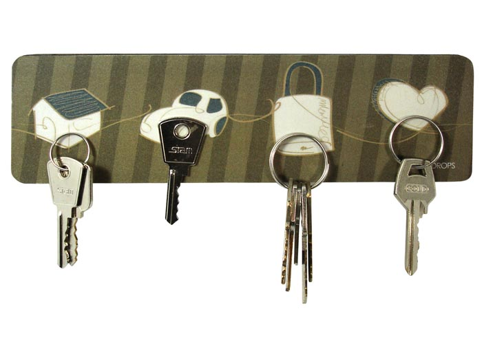 Porta-chaves Com Ícones