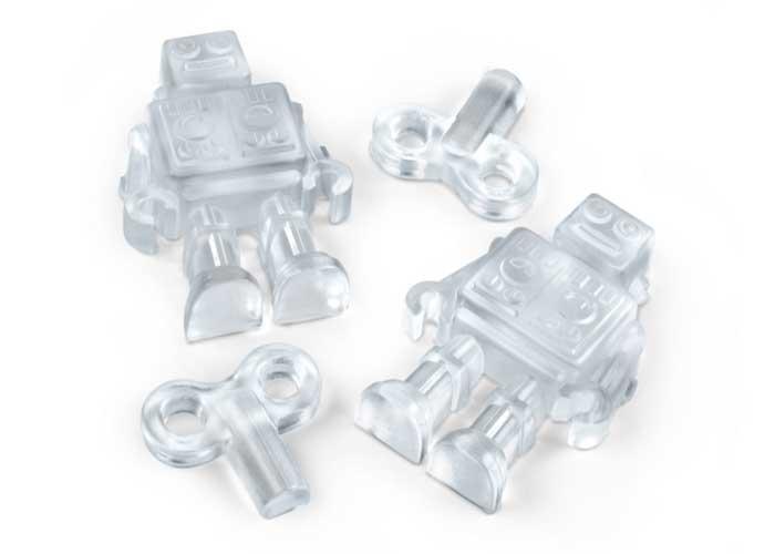 Forma de gelo de robôs Chillbots