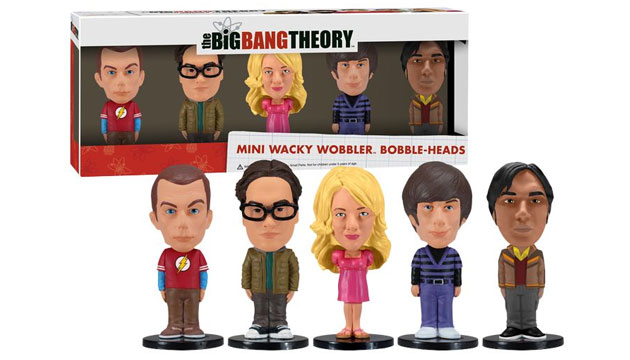 Bonecos Mini Bobble Head Funko THE BIG BANG THEORY