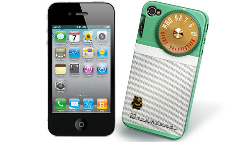Capa iPhone 4/4S Radio Retro (Fred e Friends)