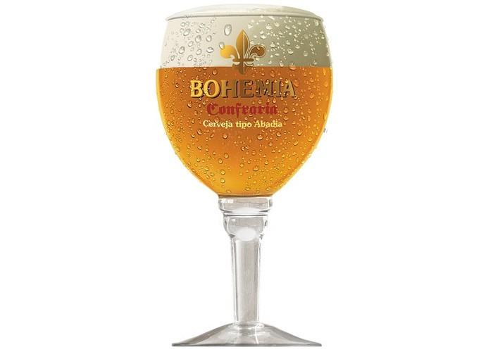 Taça de cerveja Bohemia Confraria