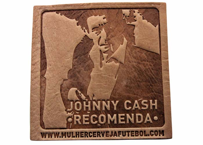 Bolacha Porta-Copos do Johnny Cash