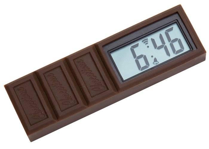 Relógio-despertador Chocotime
