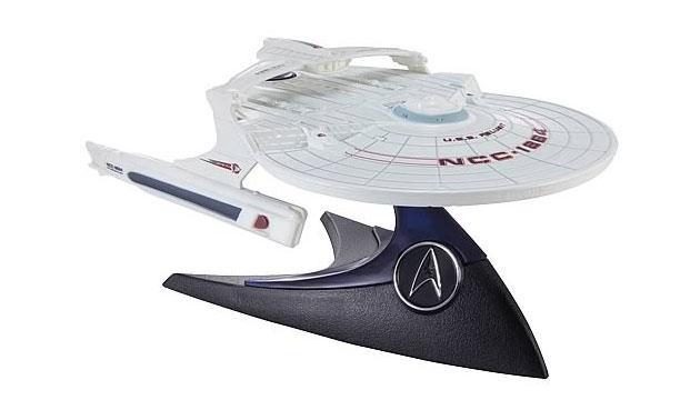 Réplica Nave Star Trek Wrath of Khan USS Reliant Hot Wheels