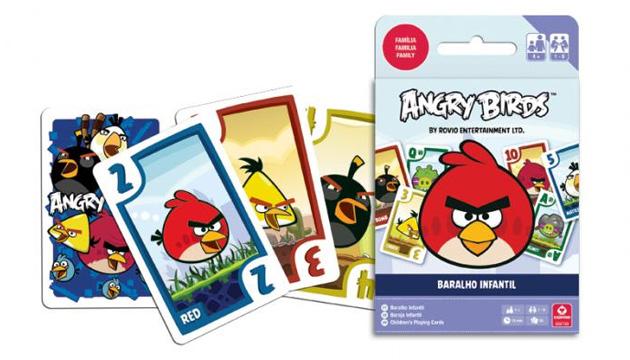 Baralho ANGRY BIRDS