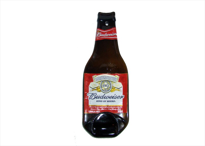 Garrafa Amassada Budweiser