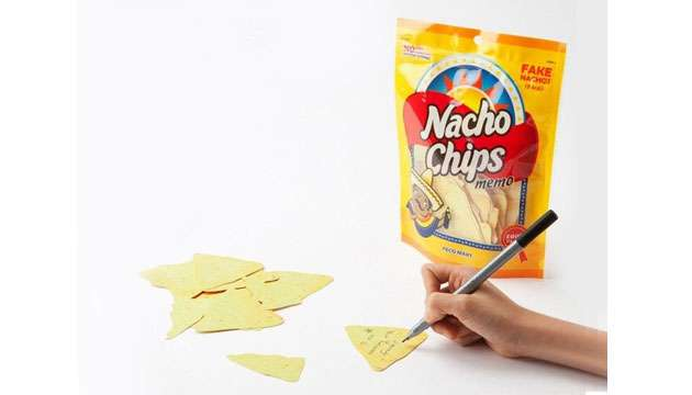 Bloco de Recados NACHOS CHIPS