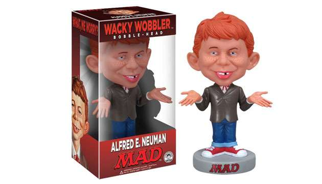 Boneco Bobble Head Funko Alfred Newman (MAD)