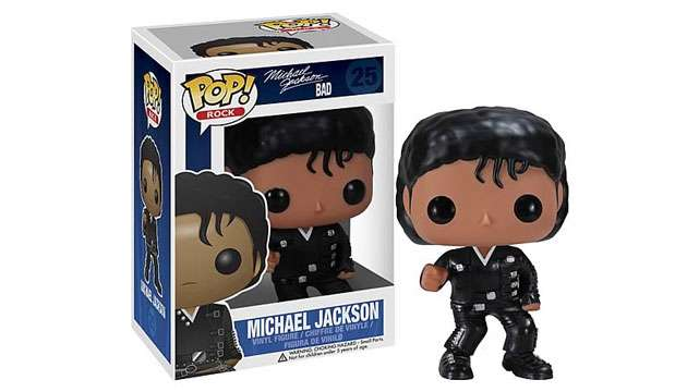Boneco Funko Pop Vinyl MICHAEL JACKSON Bad