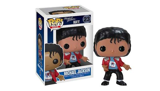 Boneco Funko Pop Vinyl MICHAEL JACKSON Beat It