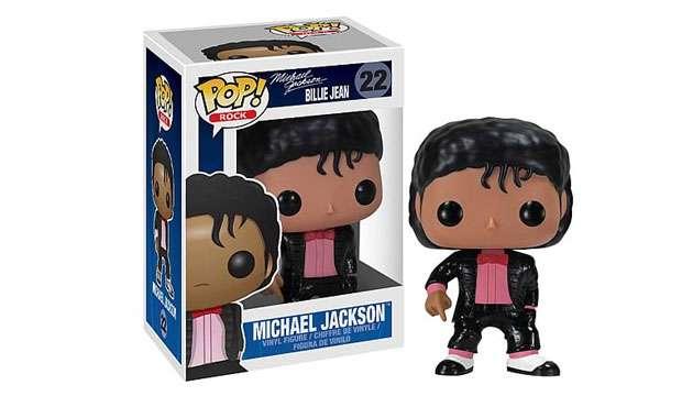 Boneco Funko Pop Vinyl MICHAEL JACKSON Billie Jean