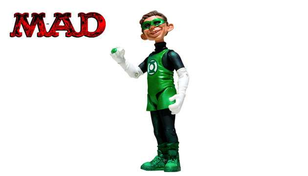 Boneco MAD Stupid Heroes Lanterna Verde