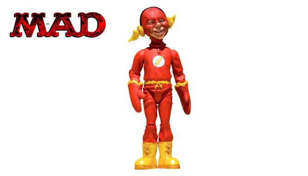 Boneco MAD Stupid Heroes The Flash