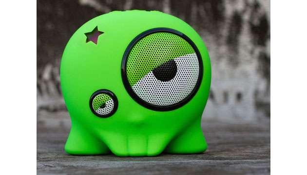 BoomBotix Caixa de Som BB1 (cabo) - Verde