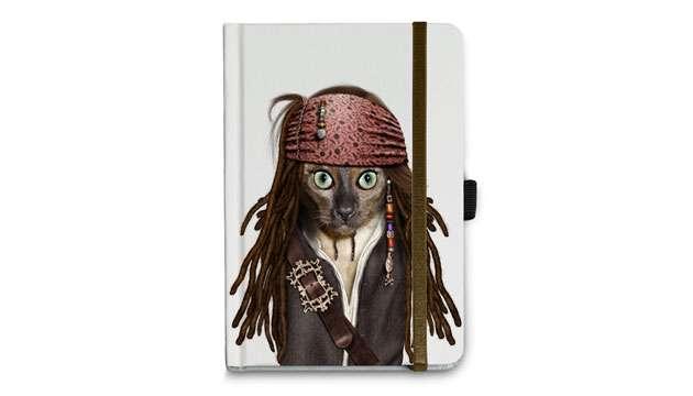 Caderno Catpirate Pequeno