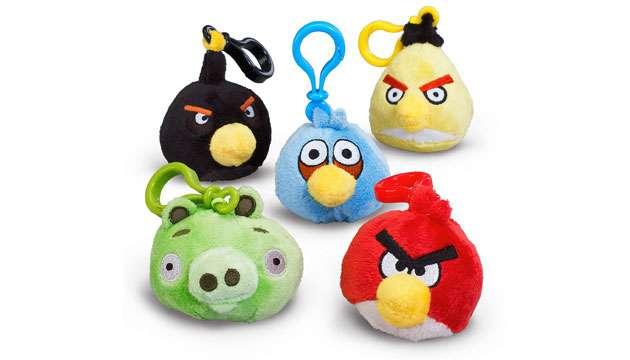 Chaveiro Angry Birds Pelúcia - 5 modelos