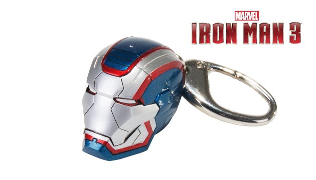 Chaveiro c/ luzes HOMEM DE FERRO Iron Patriot