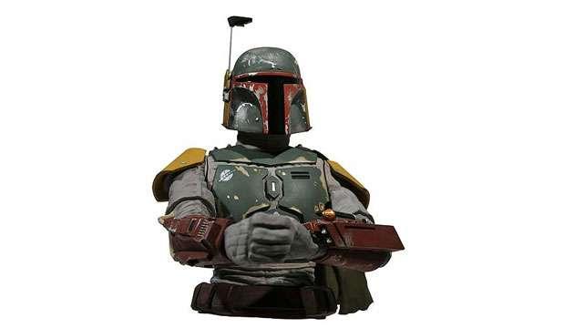 Cofre Busto Star Wars BOBA FETT