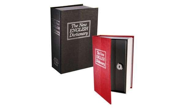 Cofre Camuflado Livro Dicionário Inglês