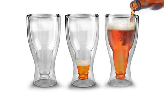 Copo Cerveja HOPSIDE DOWN (Fred e Friends)