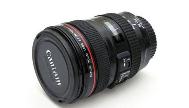 Copo Lente Fotográfica Preta 24 x 105mm 350ml