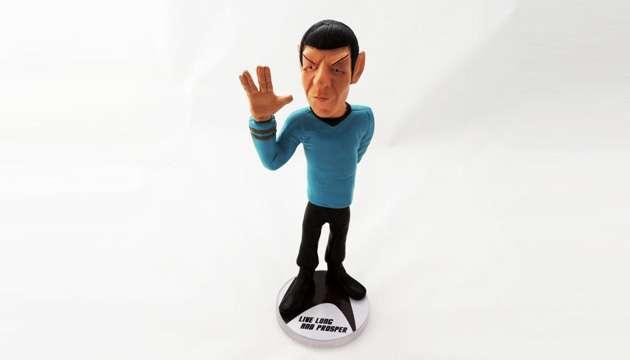 Estátua SPOCK Star Trek