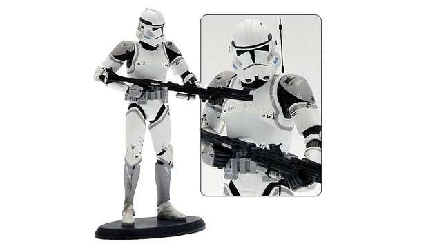 Estátua Star Wars Elite Collection Coruscant Tropper 1:10 (Edição raríssima apenas 999 no mundo)