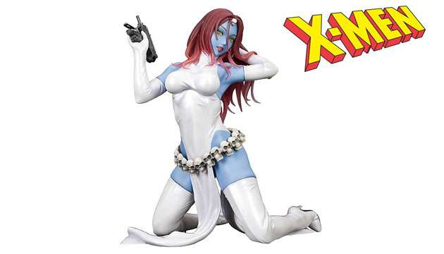 Estátua X-Men Mística Bishoujo