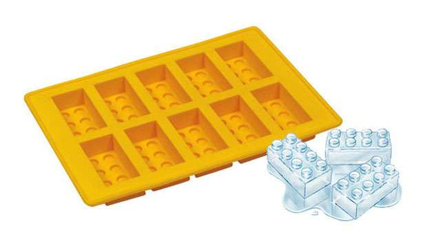 Forma de Gelo e Chocolate LEGO
